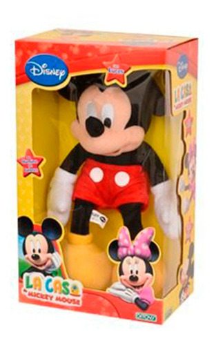 mickey club house muñeco con luz original ditoys full