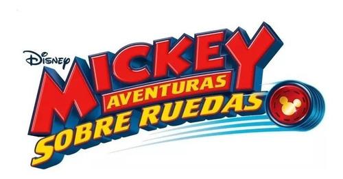 mickey disney caja de herramientas aventuras sobre ruedas