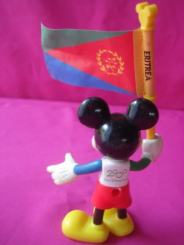 mickey eritrea olimpiadas 2000 mc donald´s walt disney