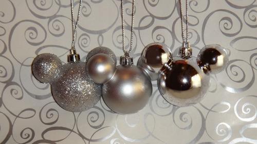 mickey esferas navideñas decoración disney adornos navidad