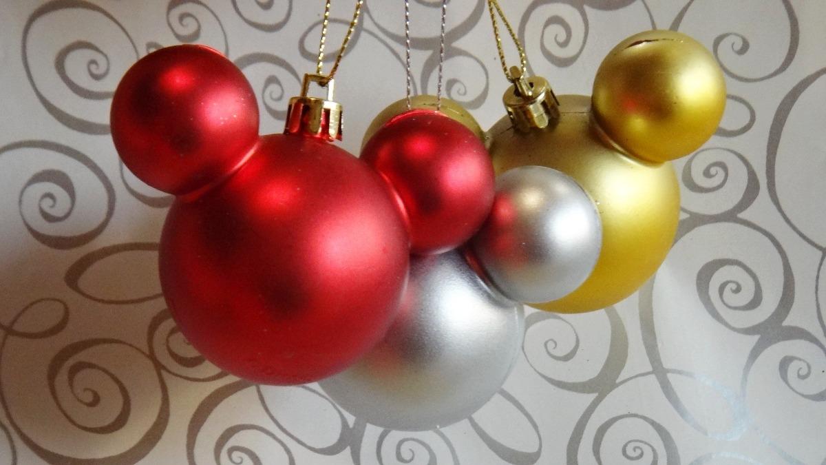 Mickey esferas navide as decoraci n disney adornos navidad - Articulos decoracion navidad ...