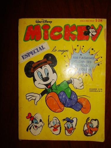 mickey - especial - walt disney