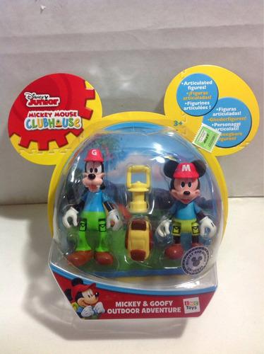 mickey & goofy disney aventura de campo sobreruedasjuguetes
