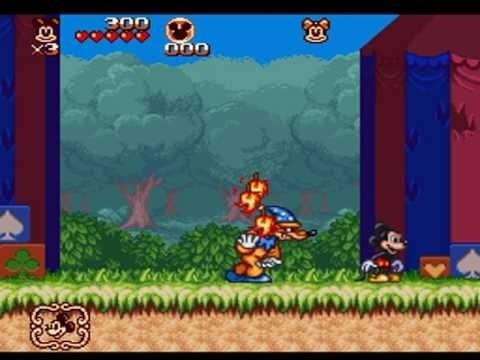 Mickey Magical Quest 2 Snes Original Super Nintendo