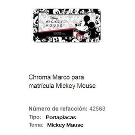 Mickey Mause Marco Superior Para Placas Gamestoreshock