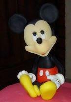 mickey minnie adorno para tortas en porcelana fria