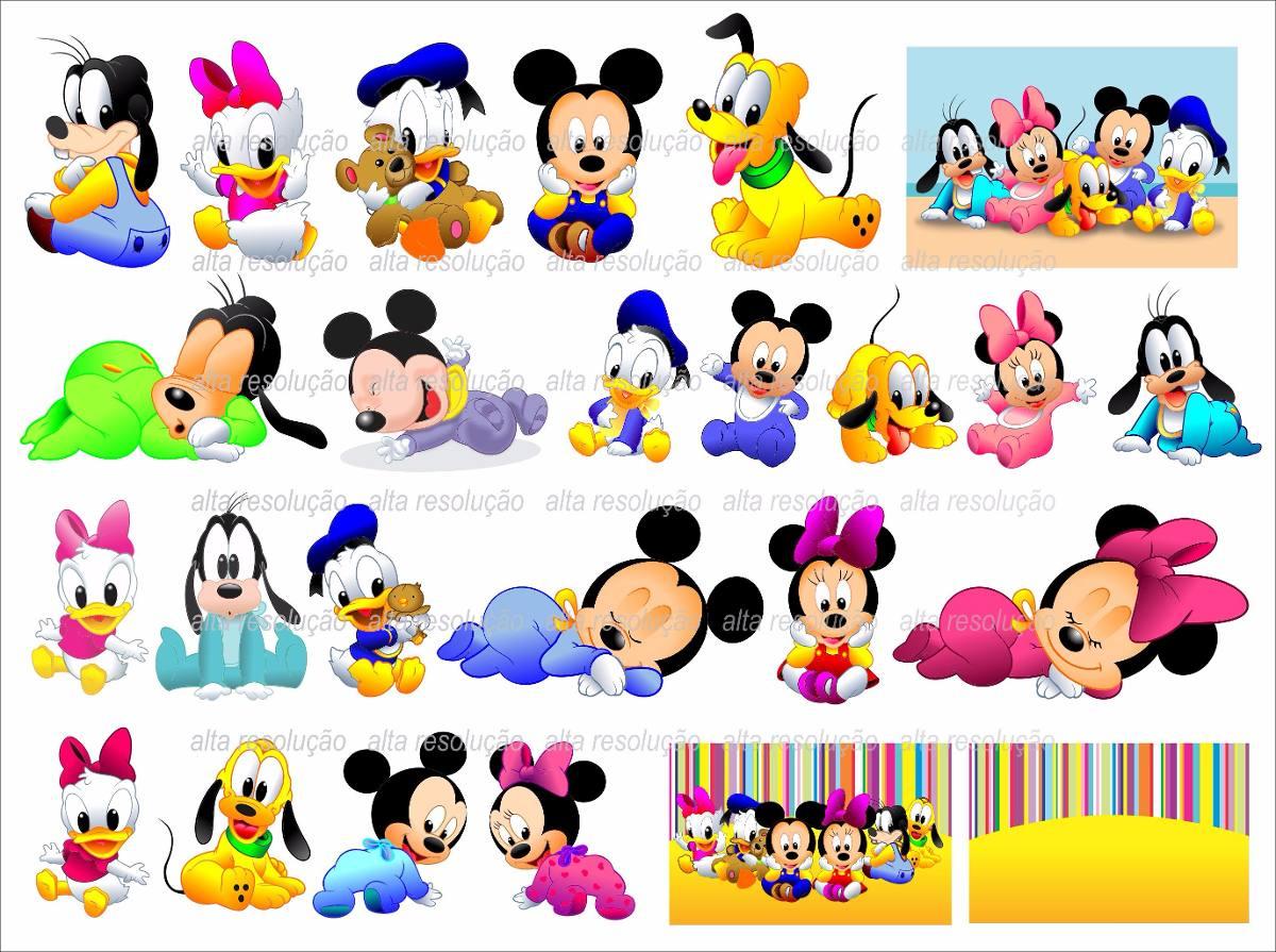 Vetores E Fotos: Mickey Minnie Baby Donald Margarida Vetores E Imagens Png