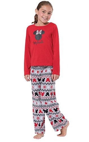 09a90dc0c5 Mickey Mouse And Minnie Mouse Matching Family Pajamas