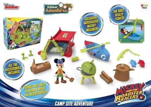 mickey mouse campamento aventura