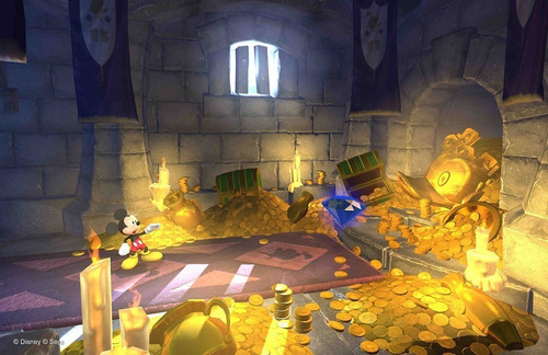 mickey mouse castle of illusion - jogos ps3 playstation 3