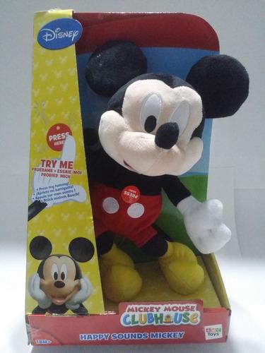 mickey mouse club house con sonido 30 cm 18 meses m y f toys