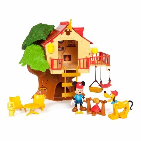 mickey mouse club house disney casa del arbol tree house