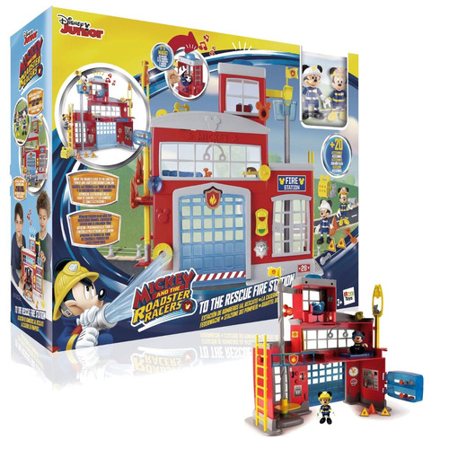 mickey mouse club house disney estacion de bomberos minnie