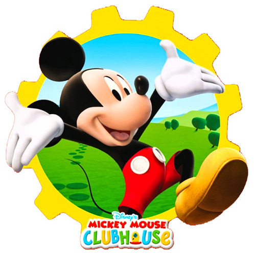 mickey mouse - club house - peluches 6 modelos.
