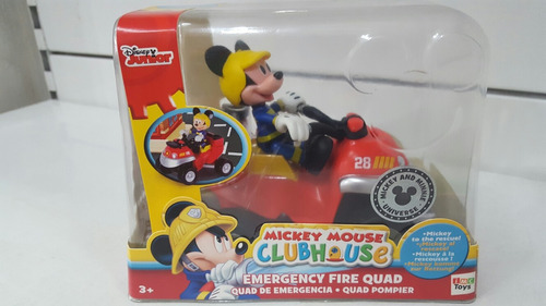 mickey mouse club house vehiculo emergencia - july toys