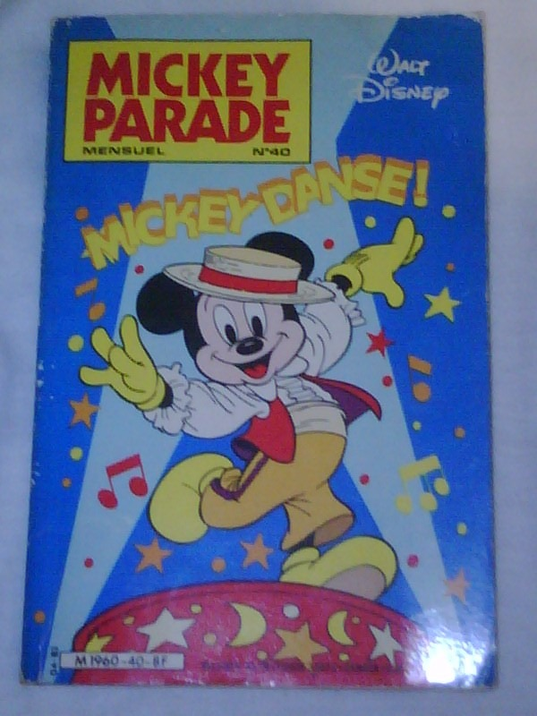 Mickey Mouse Comic En Frances Mickey Danse 1983 100 00