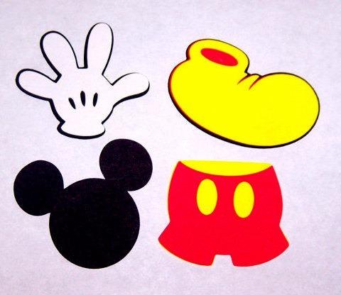 mickey mouse cortante cabeza mano short zapato 250 00 en mercado