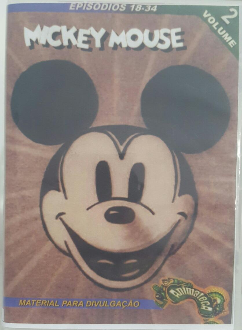 Mickey Mouse Desenho Animado Antigo R 30 00 Em Mercado Livre