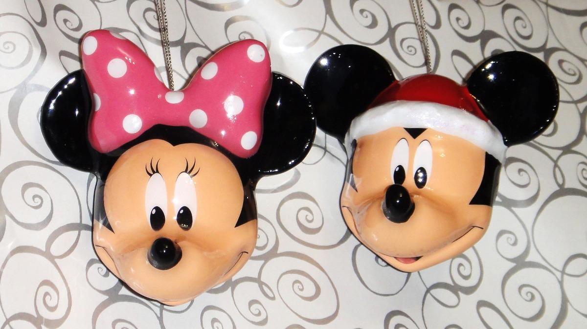 Mickey Mouse Esferas Navidad Figuras Disney Navideños Mimi ...