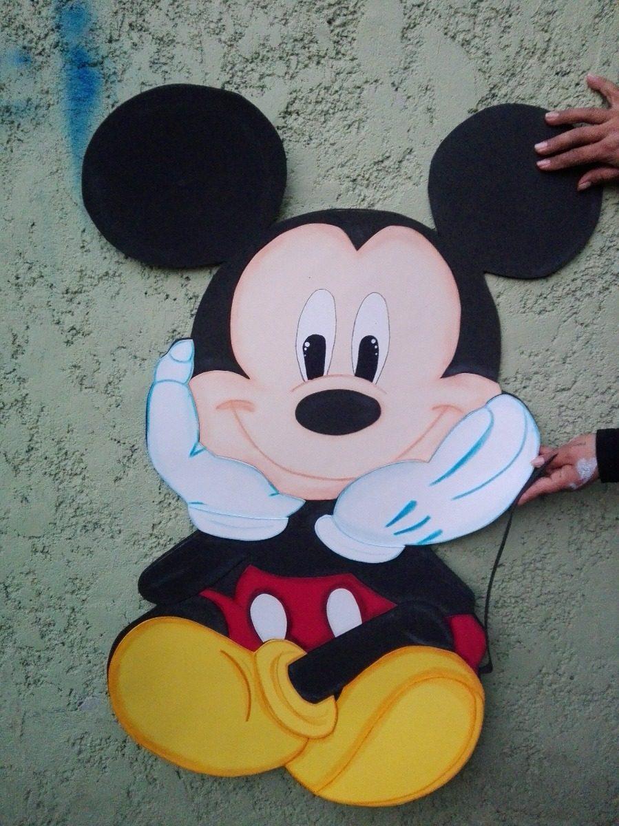 5a5d8687df9 Mickey Mouse Figuras De Foamy