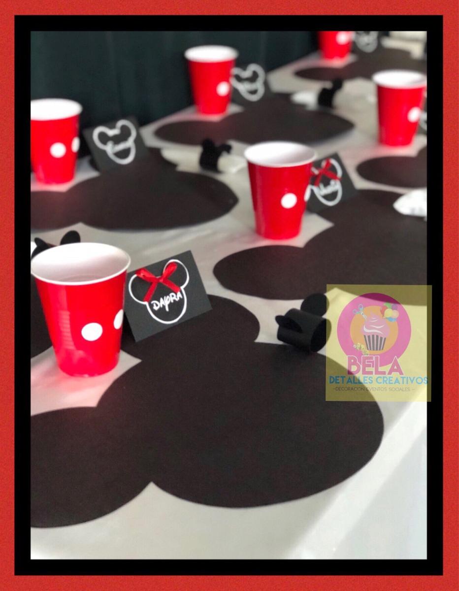 Mickey mouse mimi minnie mouse decoraci n fiesta cojin - Muebles de mickey mouse ...