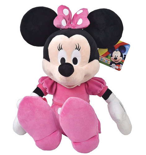 mickey mouse - minnie club house 35cm 100% original