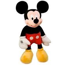 mickey mouse muñeco peluche alto 20 cm club house wabro 100%
