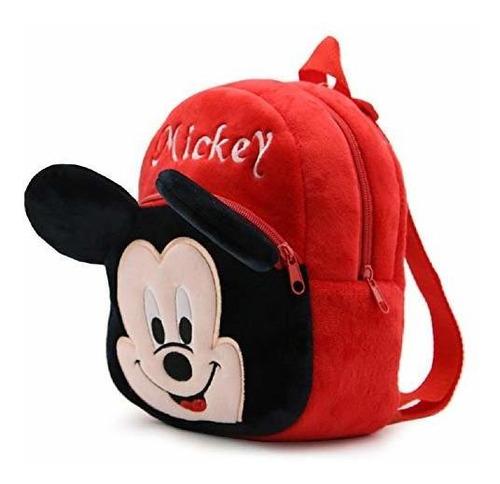 mickey mouse plush mochila para niños - bolsa de almuerzo