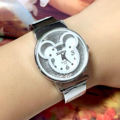 5a60e4b0d08a Mickey Mouse Relojes De Pulsera Mujeres Niñas Damas Niños ...