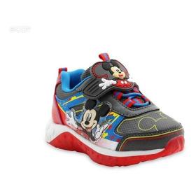 Mickey Mouse Zapatos Con Luces