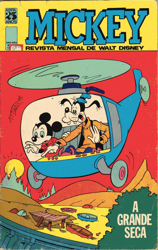 mickey nº 270 -maio de 1975 - ed. abril