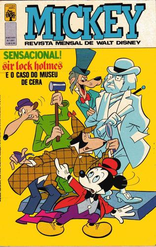mickey nº 297 - julho de 1977 - ed. abril - muito bom