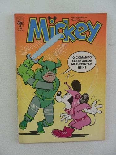 mickey nº 436! fevereiro 1987!
