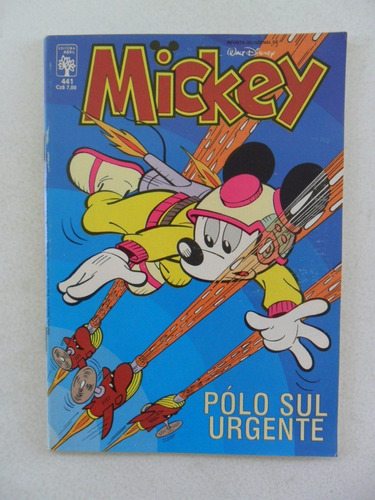 mickey nº 441! abril 1987!