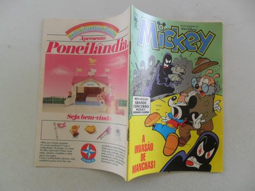 mickey nº 454! outubro 1987!