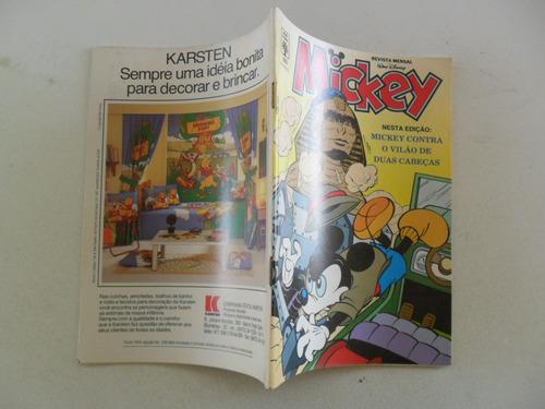mickey nº 503! agosto 1991!