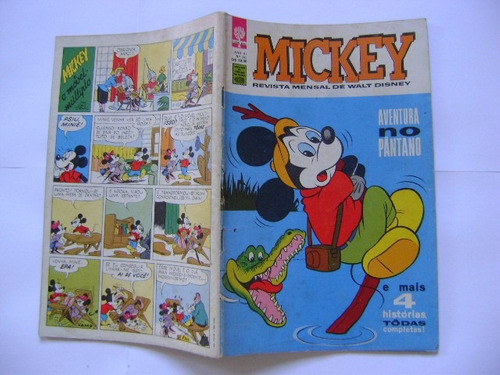 mickey n°115 maio  de 1962 editora abril