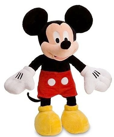 mickey o minnie mouse peluche original disney 35 cm