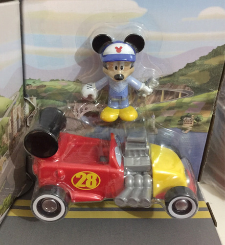 mickey roadster racer garage