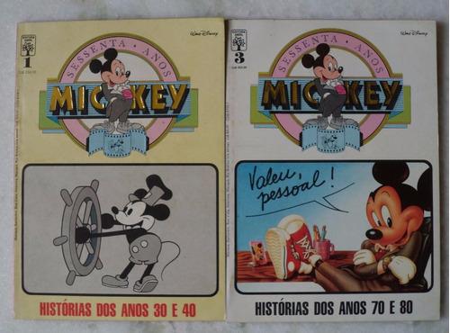 mickey sessenta anos nº 1 e 3