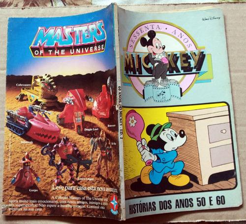 mickey sessenta anos nº 2 - ed. abril - anos 50 e 60
