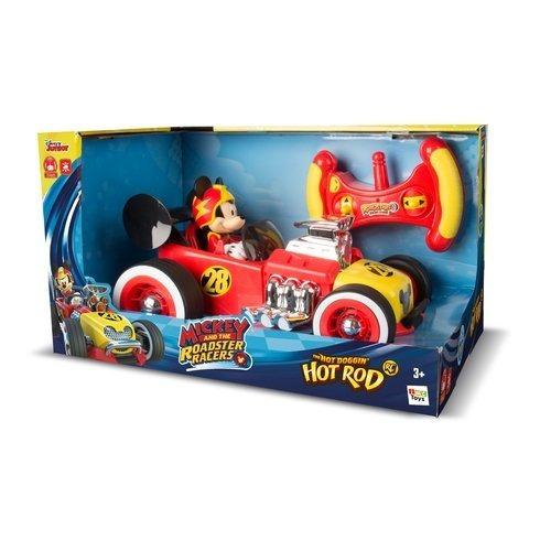 mickey sobre ruedas auto a radio control 30cm jugueterialeon