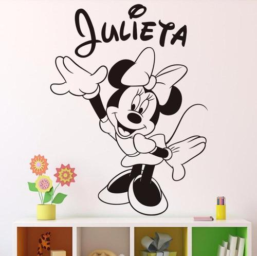 mickey vinilo decorativo infantil pegotines adhesivos calcos