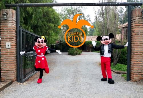 mickey y minie mouse animación infantil especial para cumple