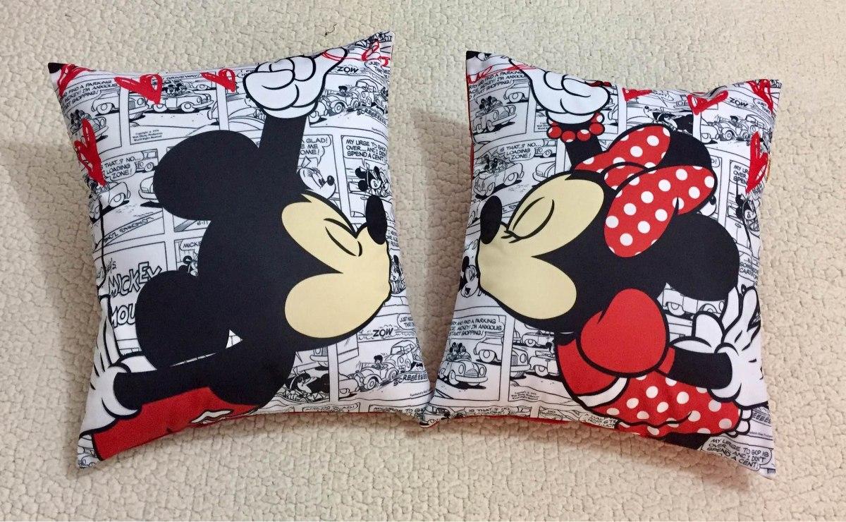 Mickey/minnie Pareja De Cojines.   S/ 80,00 en Mercado Libre