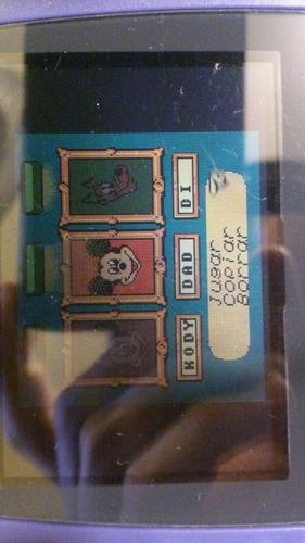 mickey's racing adventure - nintendo game boy color