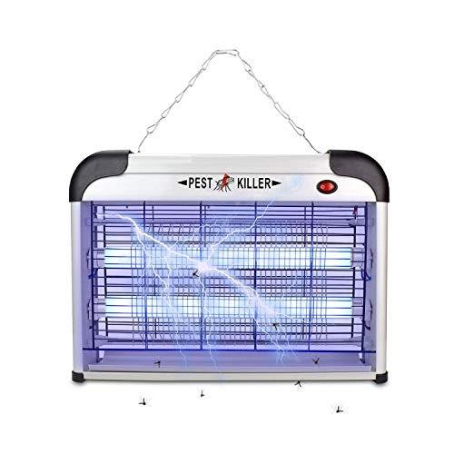 micnaron eléctrico bug zapper / micnaron plagas control-str
