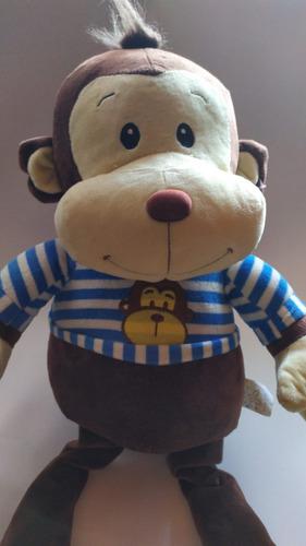 mico felpa 70 cms /  mono   + envio gratis   / osos
