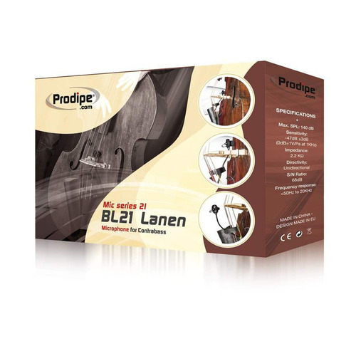 micròfono condenser prodipe bl21 lanen p/contrabajo o cello