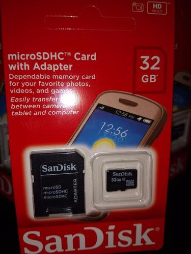 micro 32gb cartão memória
